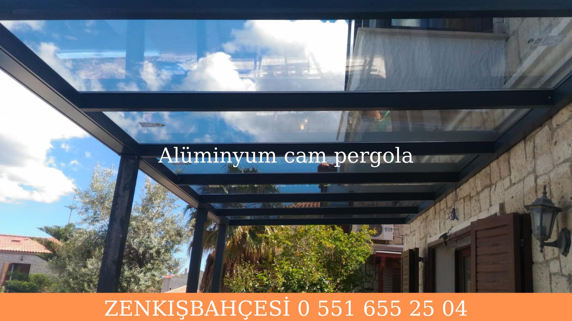 Alüminyum cam pergola modelleri