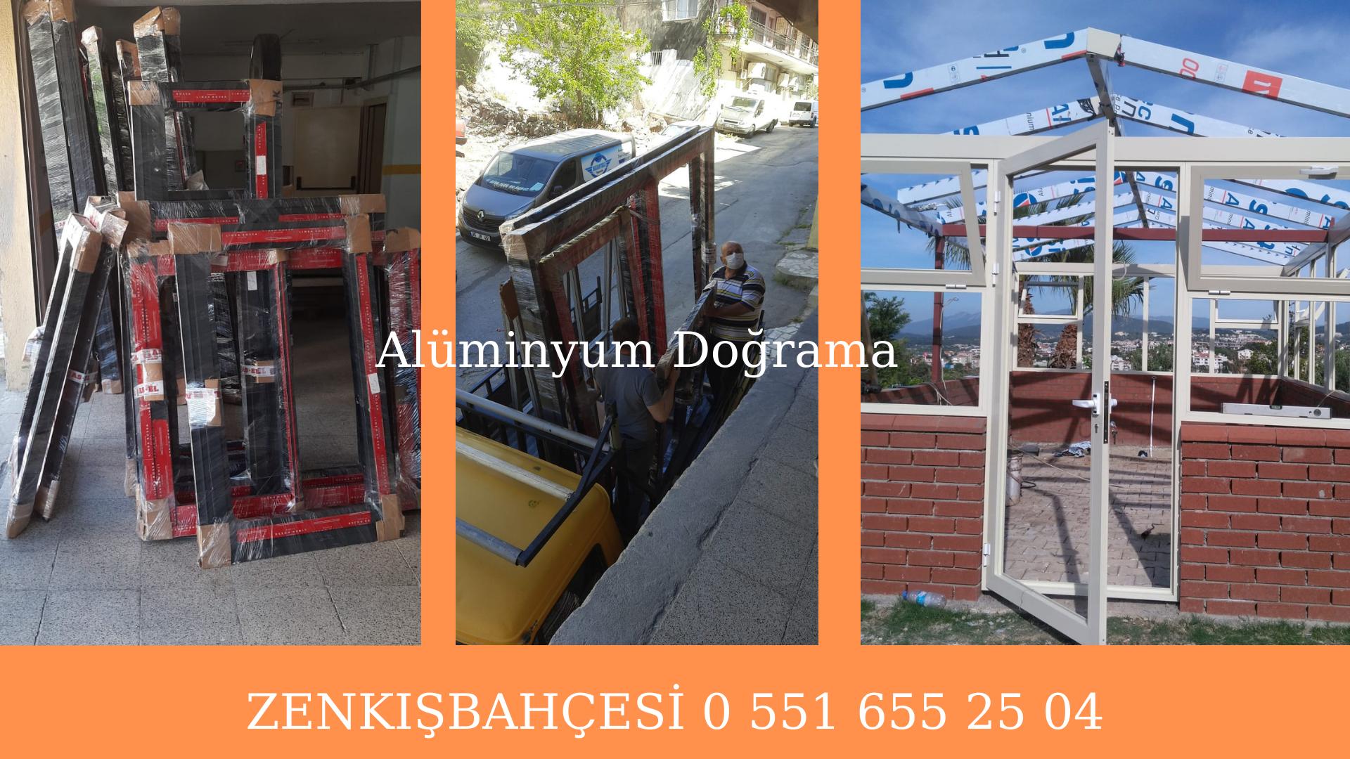 Alüminyum doğrama sistemleri İzmir