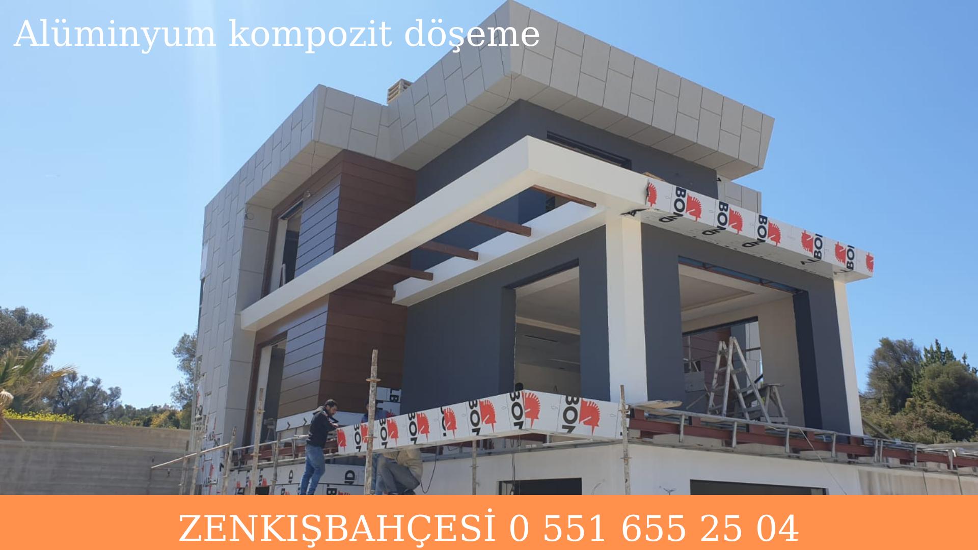 Alüminyum kompozit kaplama İzmir