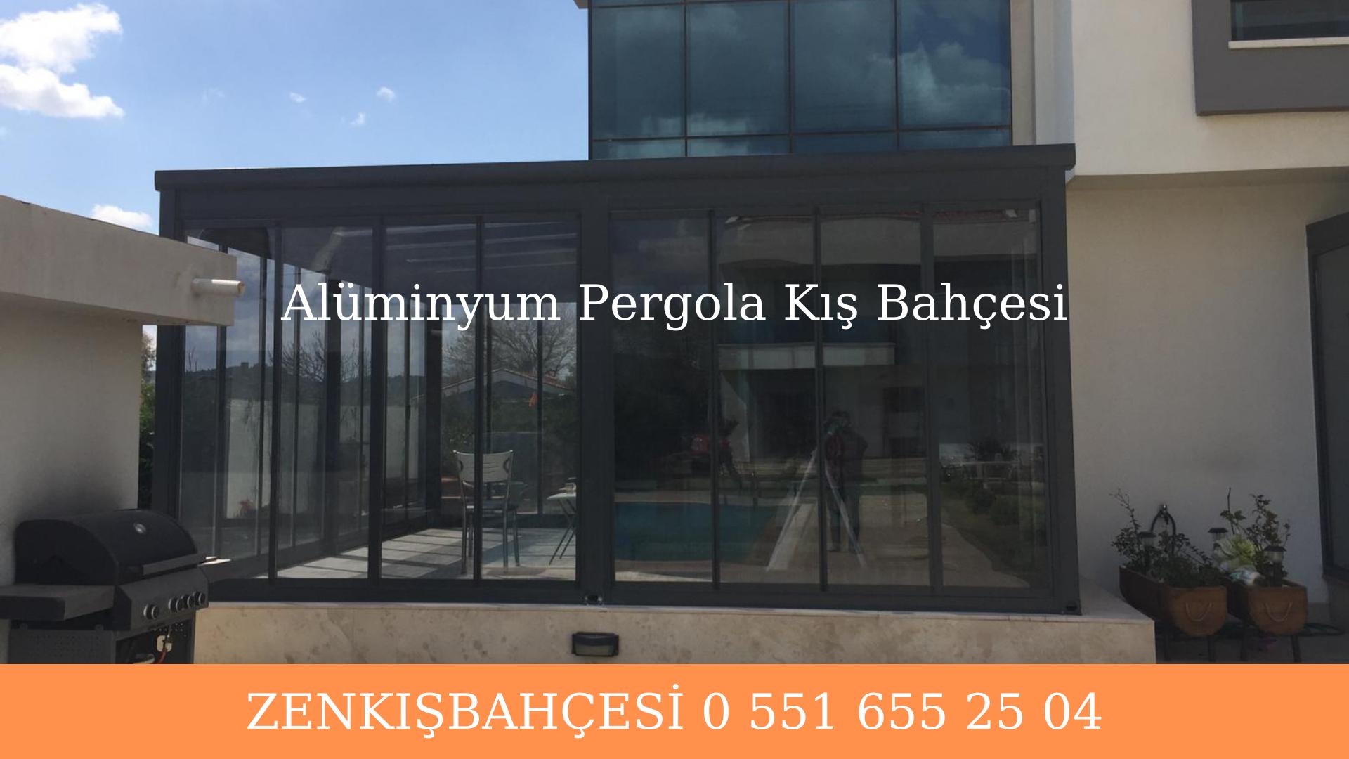 alüminyurgola sabit cam tavan İzmir