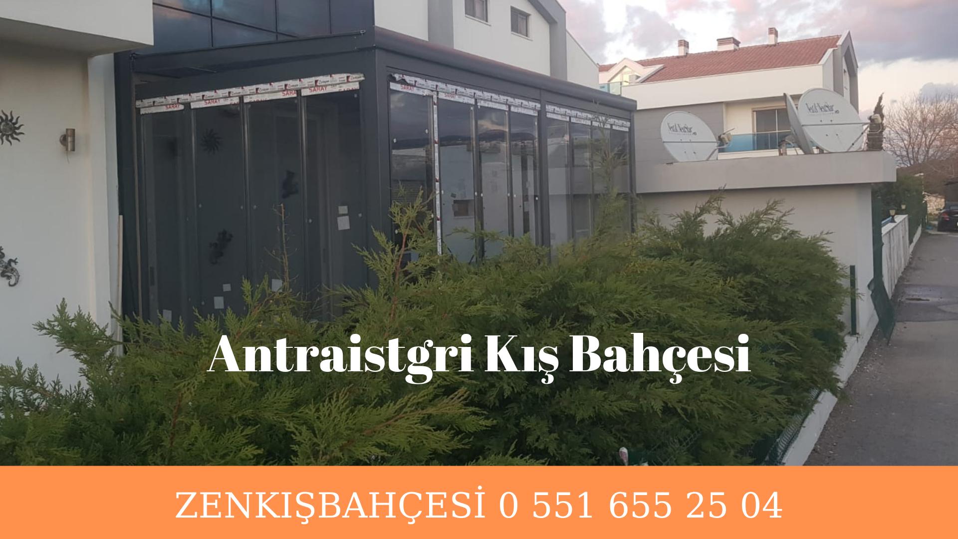 Antrasitgri kış bahçesi İzmir
