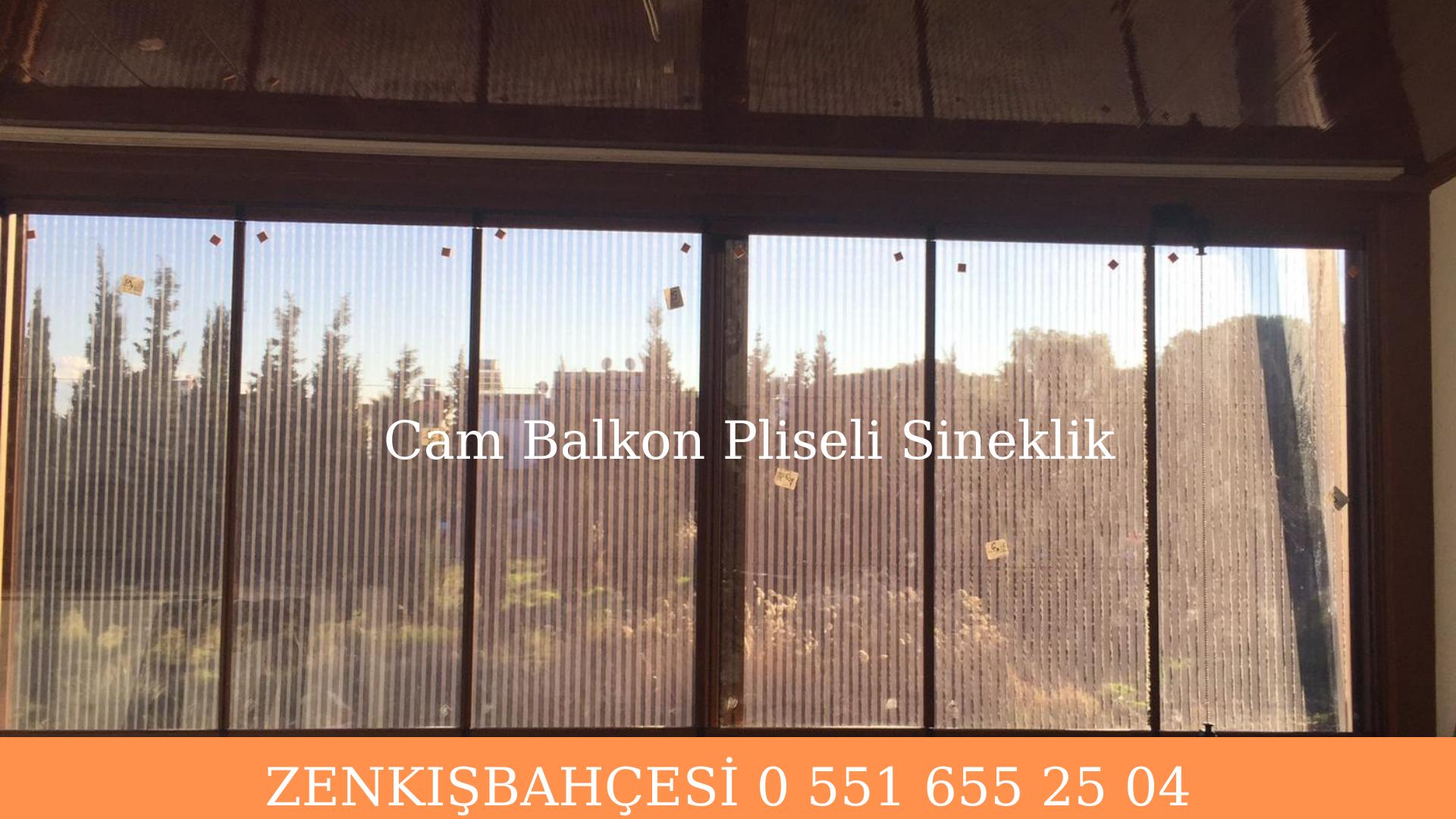 Cam balkon sineklik İzmir